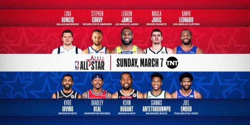 Son dakika... NBA All-Star'da ilk 5'ler belli oldu