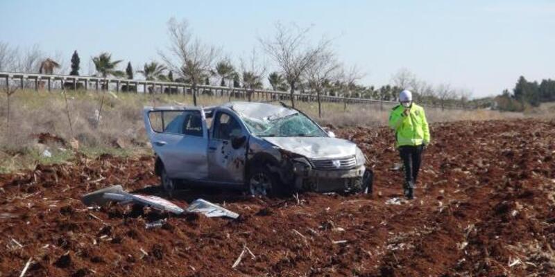 Şanlıurfa'da devrilen otomobildeki 6 kişi yaralandı