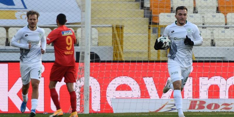 Yeni Malatyaspor - Konyaspor: 2-3
