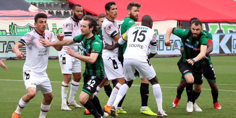 Denizlispor - Gençlerbirliği: 1-0