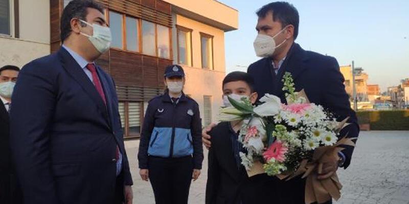 Bakan Kurum İzmir'de incelemelerde bulundu