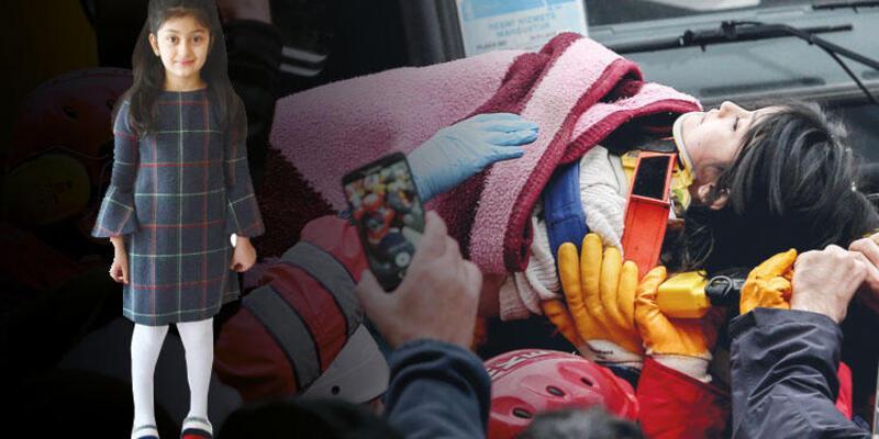 Yeşilyurt Apartmanı'nın enkazından 19 saat sonra çıkartılmıştı! 7 yaşındaki Azra ayağa kalktı