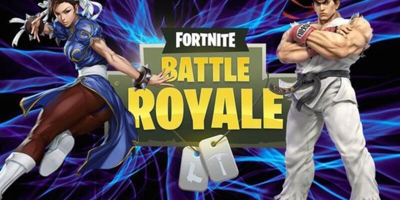 Chun-li ve Ryu Fortnite evrenine katılıyor