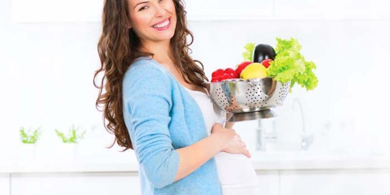 Hamilelik döneminde beslenmeye dikkat