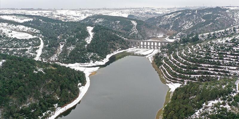 İstanbul'a su sağlayan barajların su seviyesi yükselmeye devam ediyor