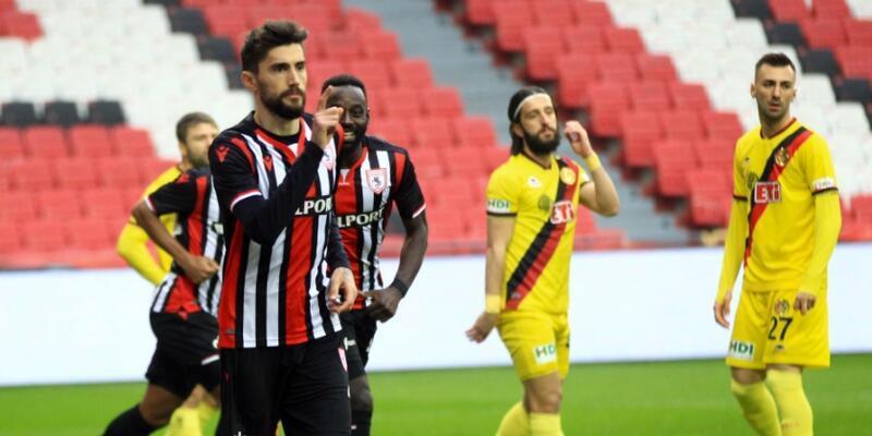 Samsunspor 6 golle kazandı