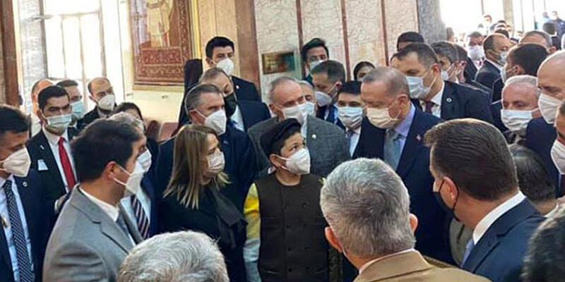 Çoban Şevki, Cumhurbaşkanı Erdoğan ile bir araya geldi