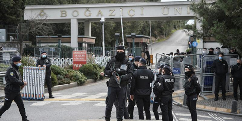Boğaziçi Üniversitesi'ndeki olaylar: 7 öğrenci hakkında 3'er yıla kadar hapis istemi