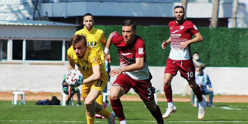 Hatayspor - Ankaragücü: 4-1