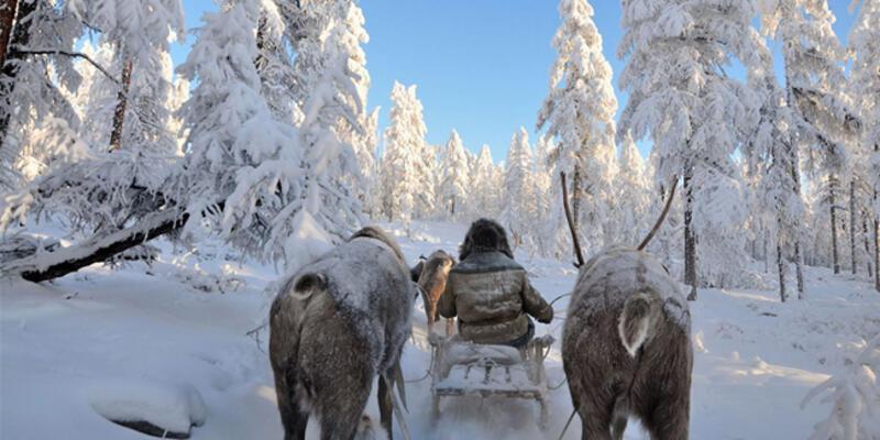 Rusya'da Yakutistan'da hava sıcaklığı eksi 50'nin altına düştü
