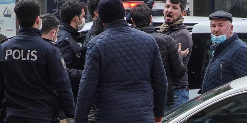 Başakşehir'de kaçak yapıyı ihbar eden baba oğula sitenin güvenliği tarafından silahlı saldırı