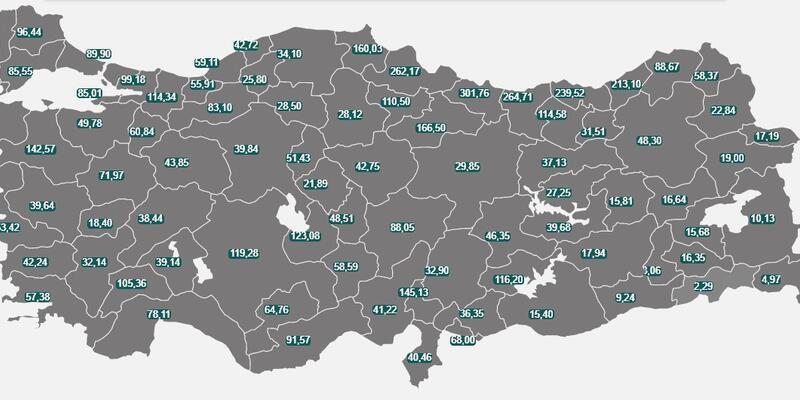 20-26 Şubat 2021 illere göre haftalık vaka sayıları! Yüksek, orta, düşük riskli iller hangileri? İstanbul, İzmir, Ankara hangi risk kategorisinde?