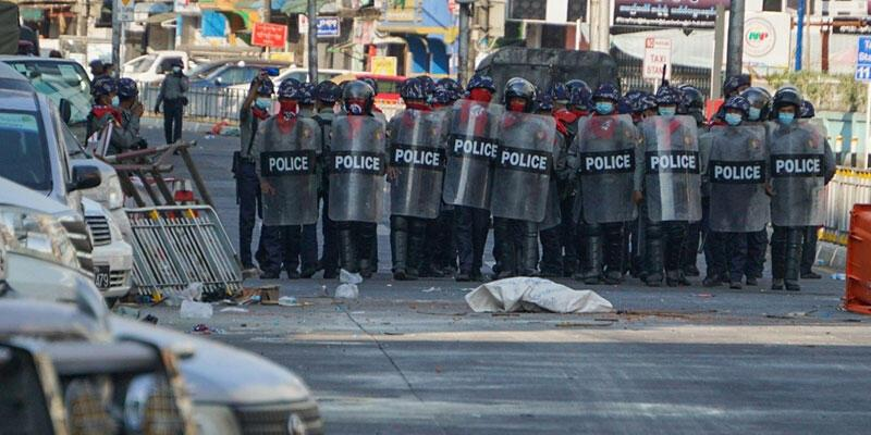 Son dakika haberi: Myanmar'da darbe karşıtı gösterilere müdahale: 33 ölü