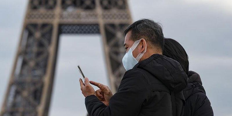 Fransa'da son 24 saatte 26 bin 788 Kovid-19 vakası tespit edildi