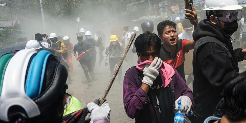 Myanmar'da kanlı gün: 38 kişi öldü