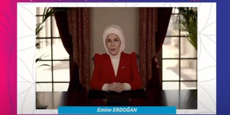 Emine Erdoğan: Kadın gücü, küresel sorunların çözülmesinde büyük katkı sağlayacak