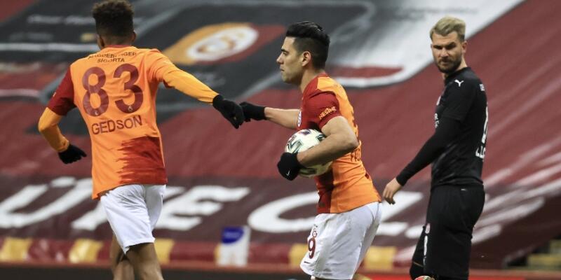Falcao'nun golleri Galatasaray'a yetmedi