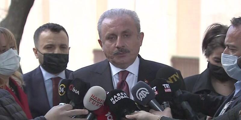 Son dakika... Meclis Başkanı Şentop'tan 'fezleke' açıklaması