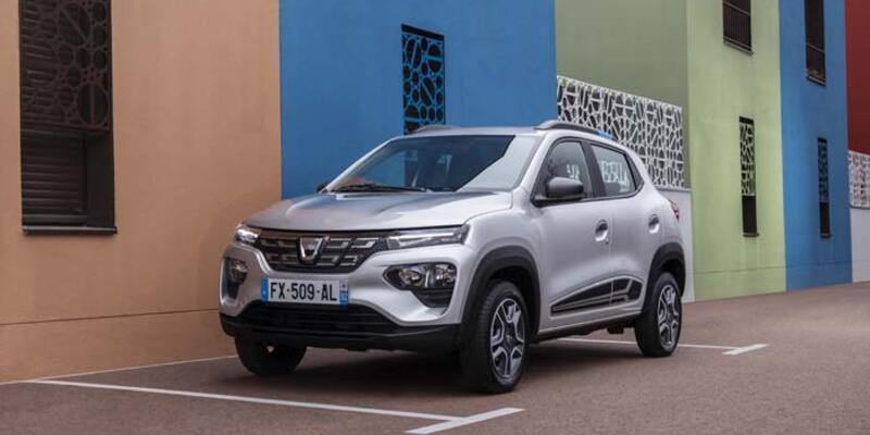 "Dacia ekonomik elektrikli ""Spring""i yola çıkardı"