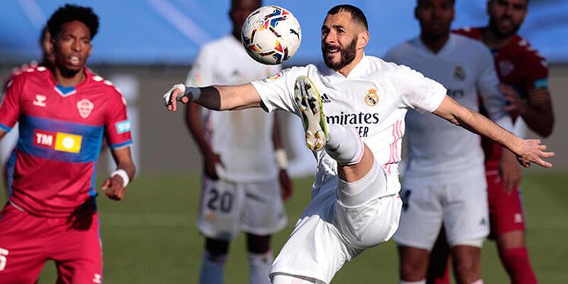Real Madrid - Elche: 2-1