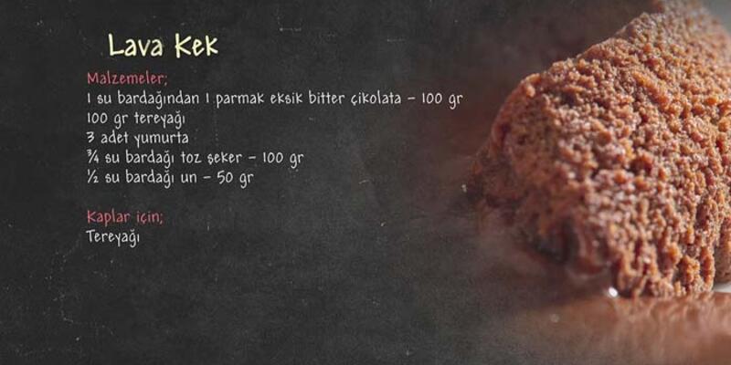 Lava Kek Tarifi - Lava Kek Nasıl Yapılır?