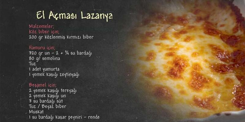 El Açması Lazanya Tarifi - El Açması Lazanya Nasıl Yapılır?