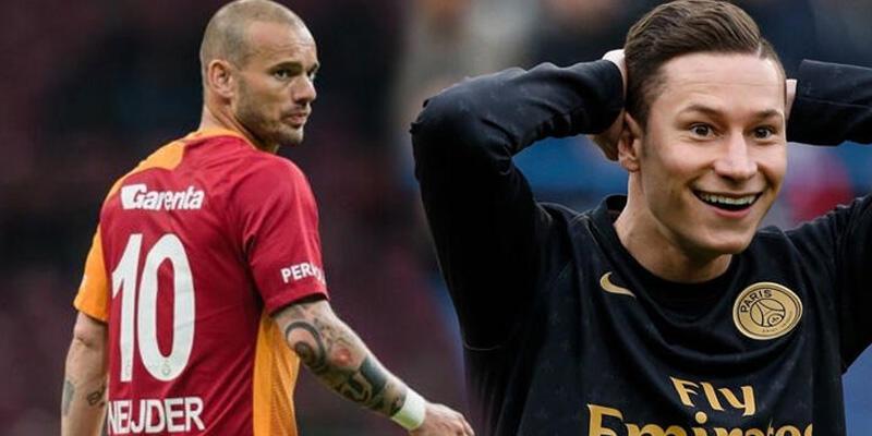 Son dakika... Sneijder, Draxler için devrede!
