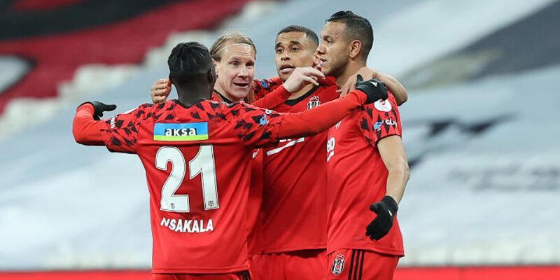 Son dakika... Beşiktaş'ın serisi 8 maça yükseldi