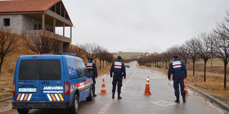 'Çok yüksek riskli' Aksaray'da 2 köy, karantinaya alındı