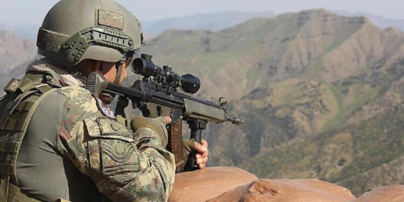 Zeytin Dalı bölgesinde 3 PKK/YPG'li terörist etkisiz hale getirildi