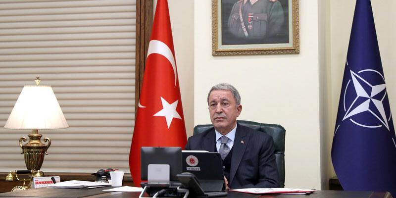 Milli Savunma Bakanı Akar, NATO'nun Afganistan için gerçekleştirilen toplantısına katıldı