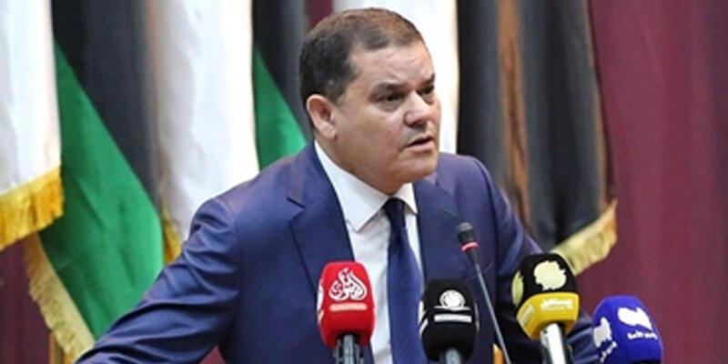 """Libya Başbakanı Dibeybe, Tunus Cumhurbaşkanı Said'in ziyaretini """"tarihi"""" olarak nitelendirdi"""