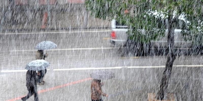 Kuvvetli yağış uyarısı! 19 Mart 2021 İstanbul, İzmir, Ankara hava durumu!