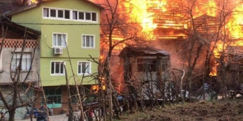 Bakan Kurum'dan Artvin'deki yangınla ilgili açıklama