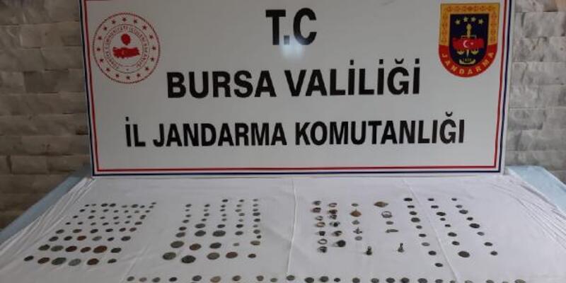 Bursa'da tarihi eser satıcıları suçüstü yakalandı