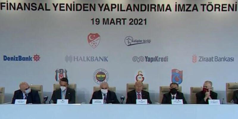 Son dakika... 4 büyükler ile Bankalar Birliği yapılandırma anlaşması imzaladı!