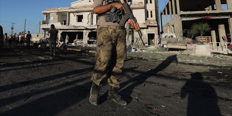 Bab'da bombalı terör saldırısı: 1 ölü, 2 yaralı