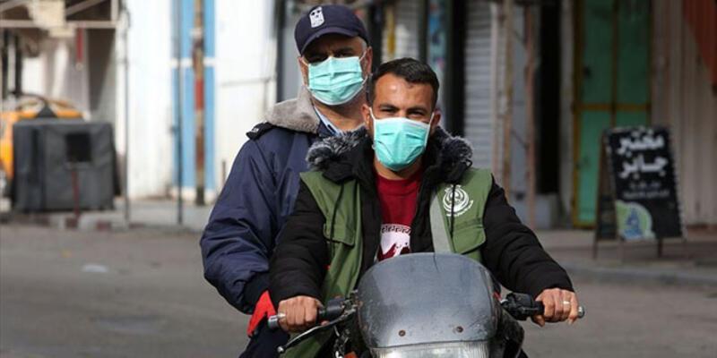Filistin'de koronavirüs toplam vaka sayısı 250 bine yaklaştı