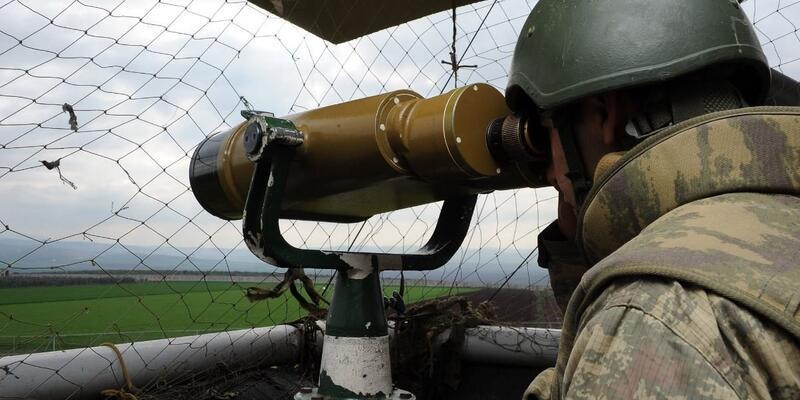 Suriye'den Türkiye'ye girmeye çalışan PKK/YPG'li terörist yakalandı
