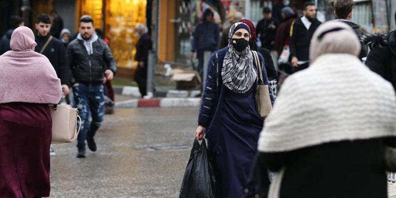 Filistin'de Kovid-19'a yakalananların sayısı 250 bini aştı