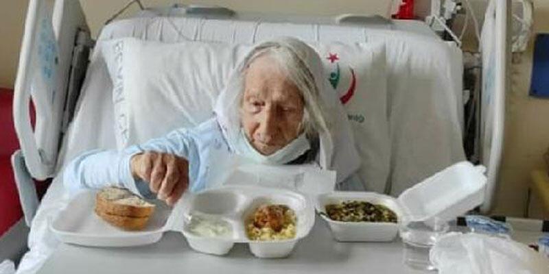 103 yaşındaki Fatma nine, koronavirüse yenik düştü