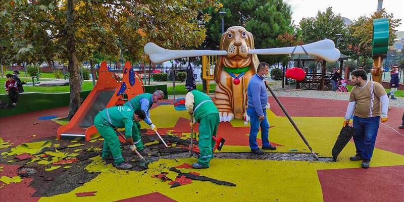 Küçükçekmece'deki çocuk parkındaki görsellere ilişkin terör soruşturması tamamlandı