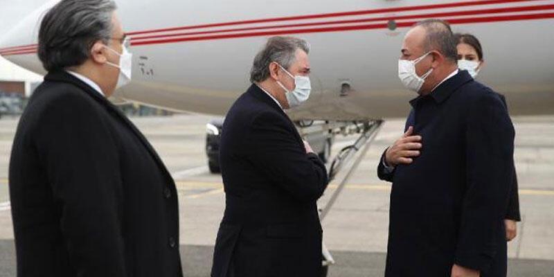 Dışişleri Bakanı Çavuşoğlu, NATO toplantısına katılmak için Brüksel'de
