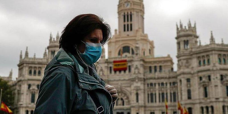 İspanya'da Kovid-19 nedeniyle son 4 günde 633 kişi hayatını kaybetti