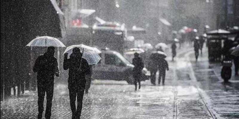 Meteoroloji'den kuvvetli yağış, rüzgar ve kar uyarısı