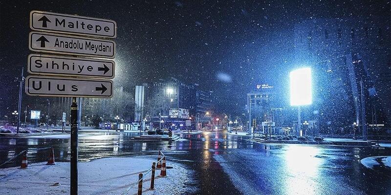 Meteoroloji'den Ankara için son dakika kar uyarısı!