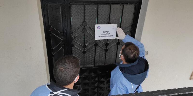 Kocaeli'de 3 bina karantinaya alındı