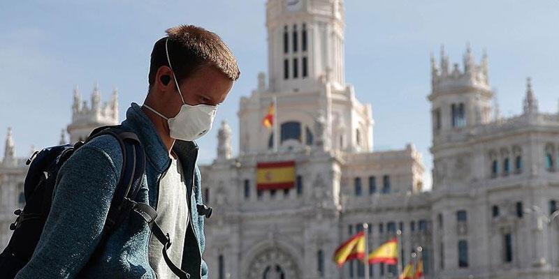 İspanya'da Kovid-19'dan son 24 saatte 201 kişi hayatını kaybetti