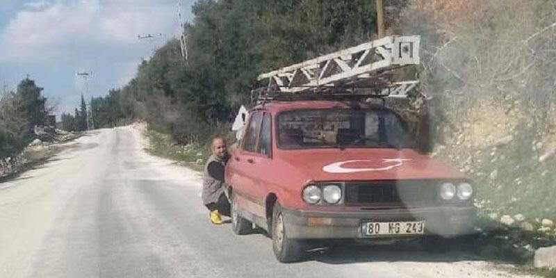 9 metrelik elektrik direğini çalarken yakalanan şüpheli tutuklandı