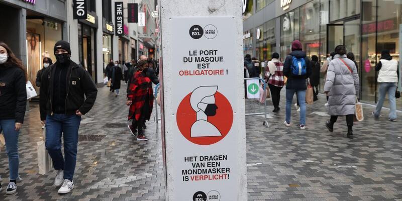 Belçika'da yeni koronavirüs kısıtlamaları